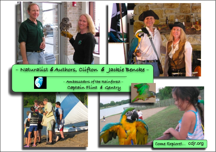 Clifton And Jackie; Naturlaists and Authors