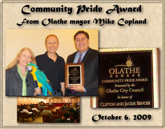 Mayor Community Pride Award
